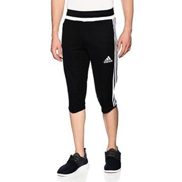 Adidas pantaloncini tiro 15 34 climacool formazione pantaloni poshmark